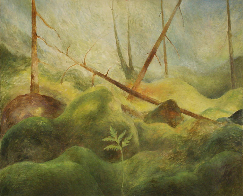 Oilpainting 73 × 85 cm